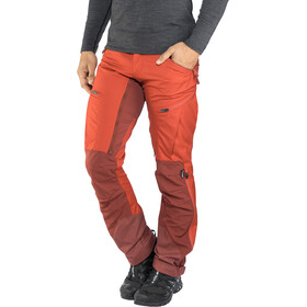 Lundhags Makke Broek Heren, red/dark red